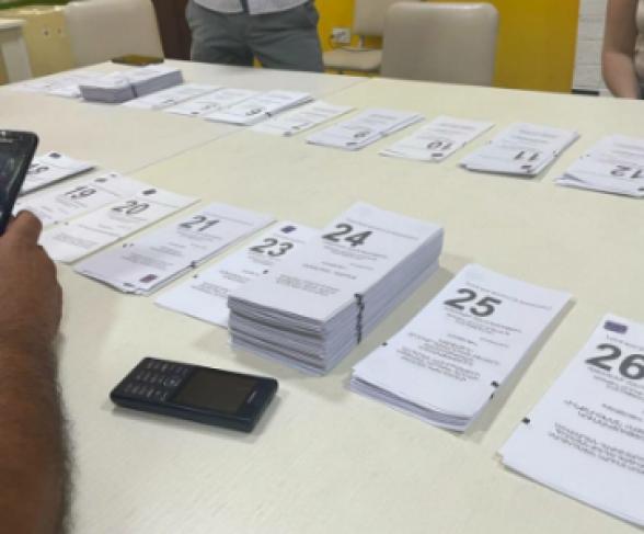 Полученный блоком «Армения» на ИУ 14/8 261 голос в ЦИК зарегистрирован как 26