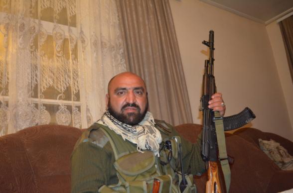 Ветеран карабахской войны Артур Айвазян (Монах) арестован