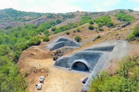 Ադրբեջանը թունելների շինարարություն է սկսել դեպի Շուշի ճանապարհին.ֆոտո
