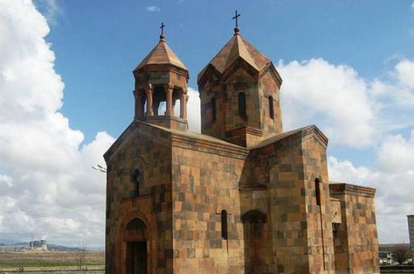 26-ամյա անձը վնասել է Մեծամորի Սուրբ Ղազար եկեղեցու գույքը