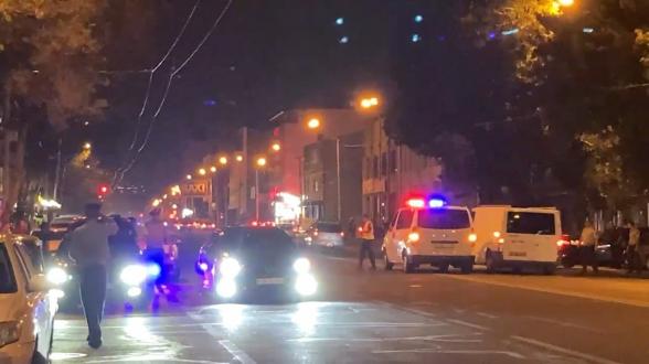 В Ереване сотрудники полиции ведут усиленную службу: проверяются автомобили (видео)