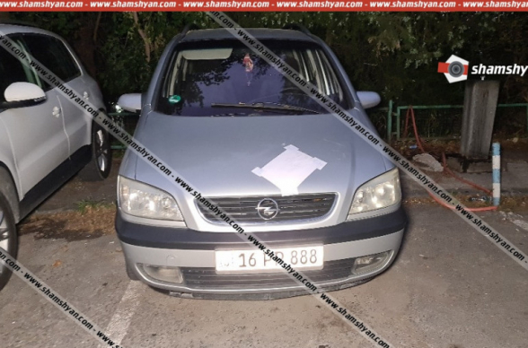 Դավիթ Բեկի փողոցում, «գոլդ» համարանիշներով Lexus-ի վարորդը, ըստ նախնական տեղեկությունների, ճանապարհ չզիջելու պատճառով կրակել է Opel-ի վարորդի ուղղությամբ