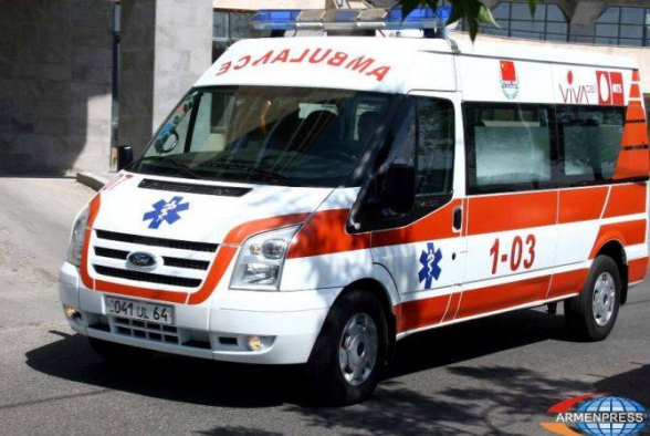 Բագրատաշենի մաքսատան մոտ ավտոմեքենաների բախումից գազի բալոն է պայթել. մեկ մարդ զոհվել է