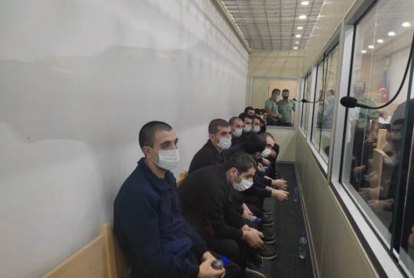 Ադրբեջանում 13 հայ ռազմագերի դատապարտվել է 6 տարվա ազատազրկման