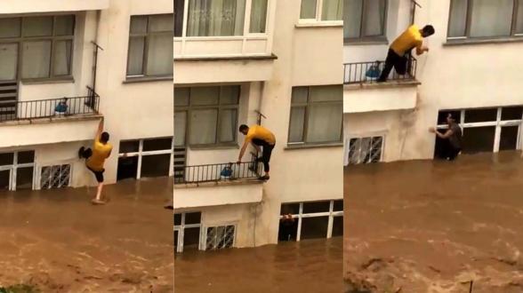 Թուրքիայում ջրհեղեղի հետևանքով տներ են անցել ջրի տակ (տեսանյութ)