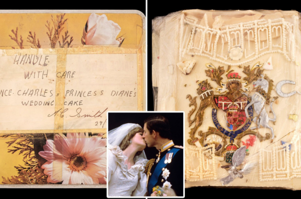 «Խորհուրդ չէի տա ուտել»․ արքայազն Չարլզի և արքայադուստր Դիանայի հարսանեկան տորթի կտորը կհանվի աճուրդի (լուսանկար)