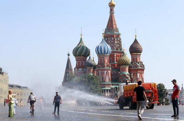 Մոսկվայում եղանակային վտանգի նարնջագույն մակարդակ է հայտարարվել