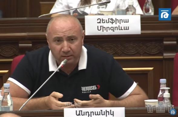 Арестованные депутаты от фракции «Армения» должны быть освобождены: в их вопросе происходит «алиевство» – Андраник Теванян (видео)
