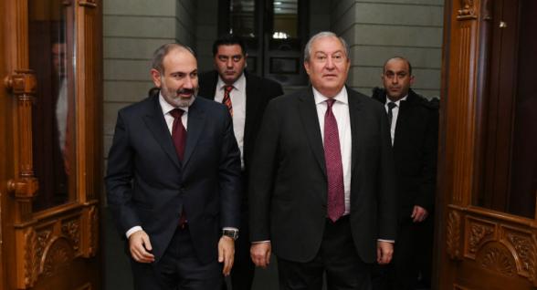 Президент Армении подписал указ о назначении Пашиняна премьер-министром