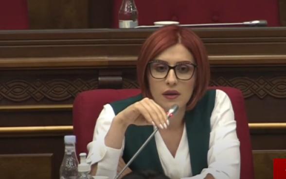 Агнесса Хамоян – Акопу Аршакяну: «Возможно, что не сумев сдержать эмоции, вы швырнете в нас компьютер?» (видео)