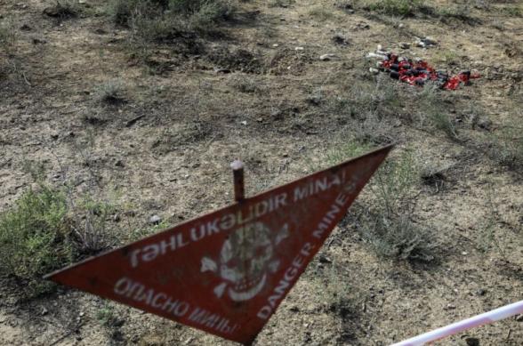 Сотрудник Агентства по разминированию Азербайджана подорвался на мине в Арцахе