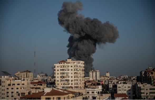 Израильские военные атаковали объекты движения ХАМАС в секторе Газа