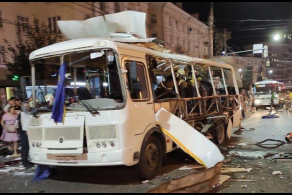 Վորոնեժում ավտոբուսի պայթյունի հետևանքով կա 1 զոհ, 19-ը տուժած (տեսանյութ)