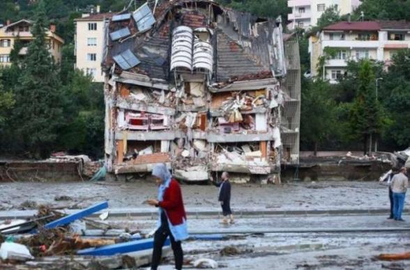 Թուրքիայում հեղեղումների հետևանքով զոհերի թիվը հասել է 79-ի