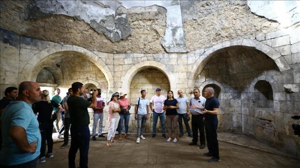 Թյուրքական խորհրդի անդամ պետություններից 30 լրագրող այցելել է Շուշի