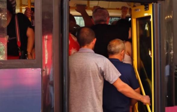 «Этот транспорт – один из филиалов ада»: новая сеть общественного транспорта Еревана – на бумаге (видео)