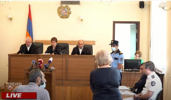 Վերաքննիչ դատարանի նիստը հետաձգվեց մինչև հոկտեմբերի 15-ը (տեսանյութ)