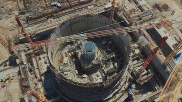 В Турции выходит на финишную прямую строительство 1-го блока атомной станции «Аккую» видео)