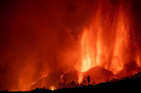 Կանարյան կղզիներում ակտիվացել է գործող հրաբուխներից մեկը. ժայթքող լավան 100 տուն է ավերել (տեսանյութ)