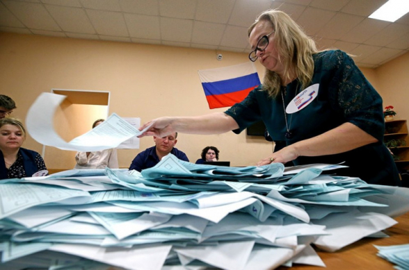 ЦИК России опубликовал предварительные результаты голосования на выборах в Госдуму: у «Единой России» конституционное большинство