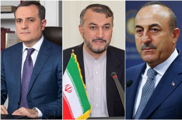 Ադրբեջանի, Իրանի և Թուրքիայի ԱԳ նախարարները հանդիպում կանցկացնեն Թեհրանում
