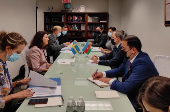 Բայրամովը Նյու Յորքում հանդիպում է ունեցել ԵԱՀԿ գործող նախագահի հետ