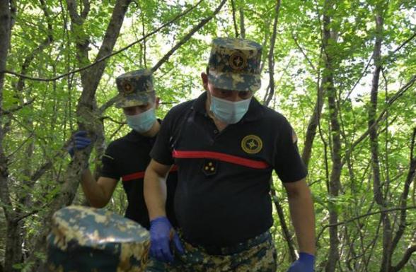 В районе Варанды обнаружены останки еще одного армянского военнослужащего