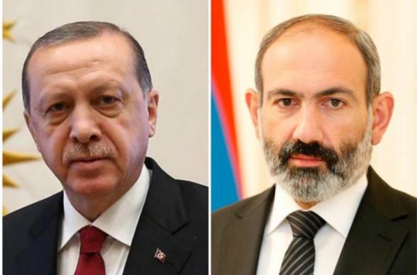 Эрдоган заявил, что они «получают положительные месседжи от Пашиняна»