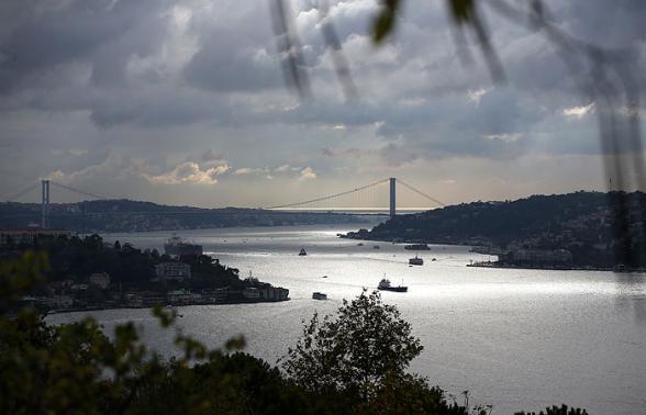 В проливе Босфор произошло столкновение двух сухогрузов