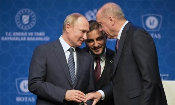 Лавров раскрыл тему переговоров Путина и Эрдогана