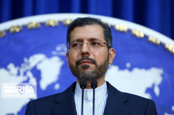 Իրանի ԱԳՆ-ն պատասխանել է Ալիևին՝ չենք հանդուրժի Իսրայելի ռեժիմի ներկայությունը, չնայած ցուցադրական, Իրանի սահմանների մոտ
