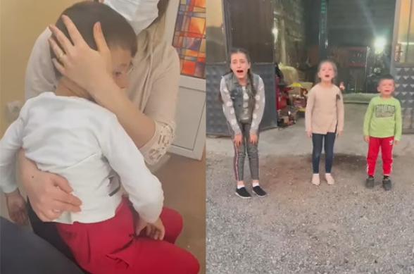 Հոր նկատմամբ ոստիկանների կիրառած բռնությունից հետո 3 տարեկան երեխային ցնցումների մեջ տեղափոխել են հիվանդանոց (տեսանյութ)