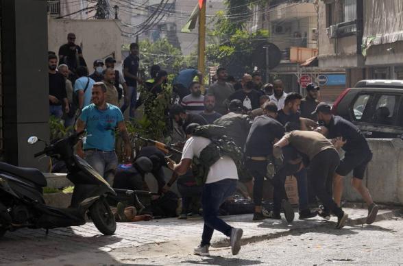 Բեյրութում պայթյուն է որոտացել. բանակայինները շրջափակել են թաղամասը, որտեղ առավոտից կրակոցներ են հնչում