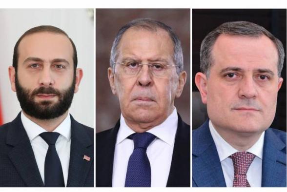 ՀՀ, ՌԴ և Ադրբեջանի ԱԳ նախարարները քննարկել են Լեռնային Ղարաբաղի հակամարտությանն առնչվող խնդիրներ