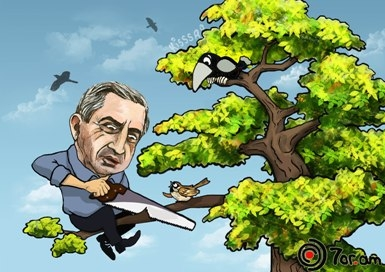 Ոստիկանապատված իշխանություն կամ ո՞րն է Սերժ Սարգսյանի հենարանը