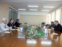 Ս. Օհանյանն ընդունել է Հայաստանում Ռուսաստանի Դաշնության արտակարգ և լիազոր դեսպանին