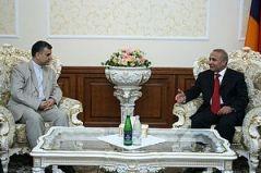 ՀՀ Ազգային ժողովի նախագահն ընդունել է Իրանի դեսպանին