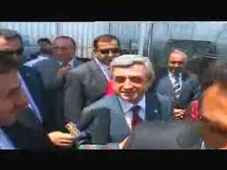 Սերժ Սարգսյան. «Ոչ մի բան էլ չի ստորագրվելու»