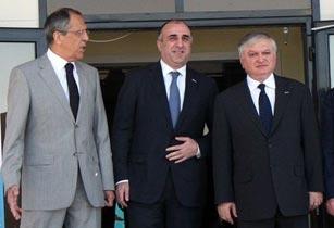Հայաստանի, Ռուսաստանի և Ադրբեջանի արտաքին գործերի նախարարների  հանդիպումը Մոսկվայում