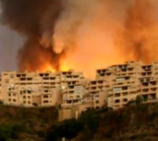 Հրդեհը այրում է Իսպանիայի հանգստավայրերը