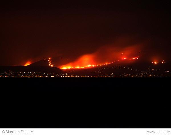 Թուրքիայի նախկին վարչապետ. «Թուրք գործակալներն են այրել հունական անտառները»