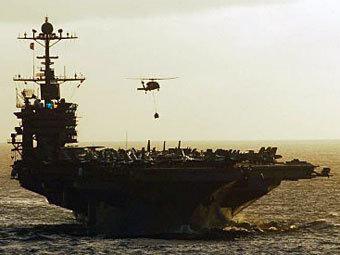 Իրանի  ռազմածովային ուժերի զորավարժությունների շրջան է մտել ամերիկյան ավիակիրը
