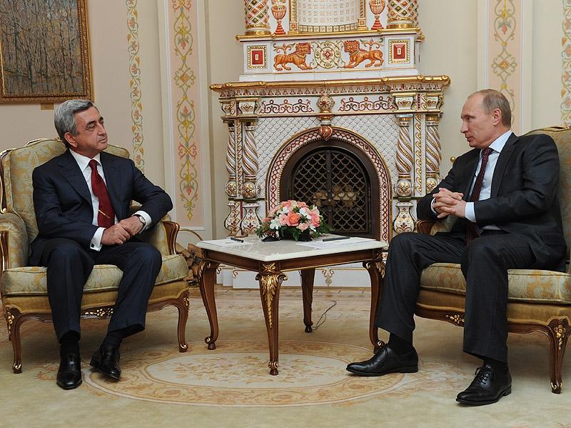 Սերժ Սարգսյանը, Պուտինն ու «դաբրոն»
