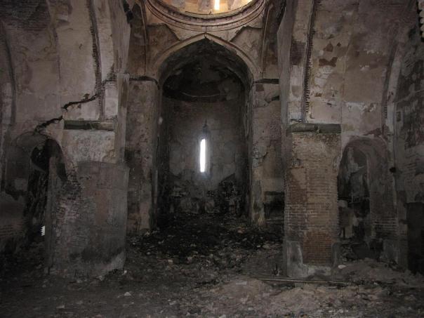 Այրվել է Թբիլիիսի հայկական Սուրբ Նշան եկեղեցին ու մնացել  անմխիթար  վիճակում