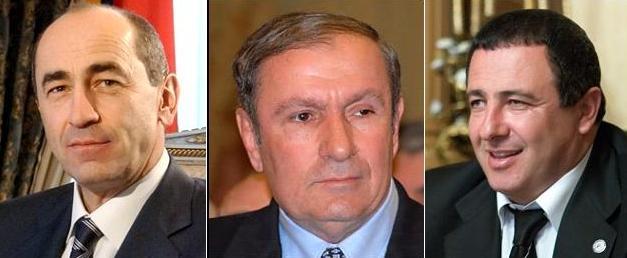 Առանց «նեյնիմների»`  պարոնայք Քոչարյան, Տեր-Պետրոսյան և Ծառուկյան