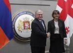 Հայաստանի և Վրաստանի ԱԳ նախարարներն անդրադարձել են հայ-վրացական օրակարգային հարցերին