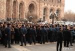 Կառավարության անդամներին գող և ավազակ են անվանել. բողոքի գործողություն ՀՀ կառավարության շենքի մոտ