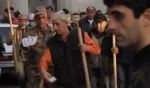 Բախում ցուցարարների և ոստիկանների միջև