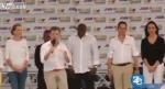 Կոլումբիայի նախագահ Խուան Մանուել Սանտոսը նախընտրական ելույթի ժամանակ «տակն է արել»