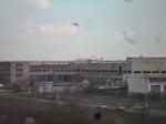 Պայթյունների հետևանքով Կրամատորսկի օդանավակայանի տարածքը պատվել է ծխով